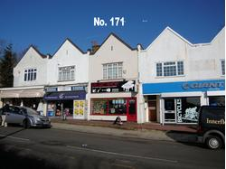 BROMLEY BR1 3AX: Lock-up shop with basement, forecourt, rear yard/car parking.