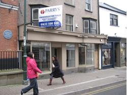 MONMOUTH - 20/22 MONNOW STREET - PRIME SHOP TO LET