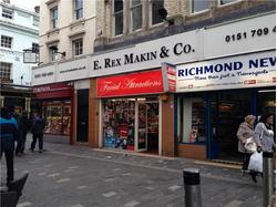 Liverpool City Centre Retail Unit To Let