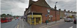 Corner Shop with Residnetial Upper Parts For Sale - Development Potential