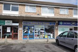 Ground floor shop with rear storage to let.