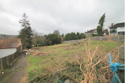 Plot for sale with planning for two detached houses