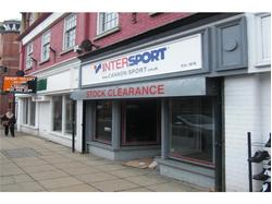 Retail Premises in Hinckley Town Centre to Let