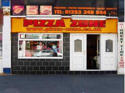 PIZZA ZONE, 94 BOND STREET, BLACKPOOL, FY4 1EX