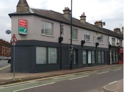 RENT REDUCTION - Large corner shop to let, St Albans Road, Watford