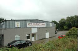 A substantial industrial warehouse in 1.25 acres