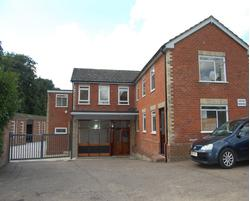 Industrial, warehouse building with offices, parking and yard extending to 11,673 sq ft (1,084m2)