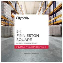 54 Finnieston Square, Skypark, G3 8ET, Glasgow