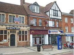 DUNSTABLE - PRIME HIGH STREET LOCATION - A2 RETAIL UNIT WITH ABOVE OFFICES - TO LET
