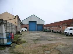 Yard & Industrial Unit at rear of 497 Oldham Road, Manchester