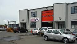 Mid Terrace Industrial Unit To Let - Lion Business Park Dering Way, Gravesend , Kent