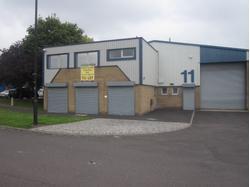 Modern industrial unit