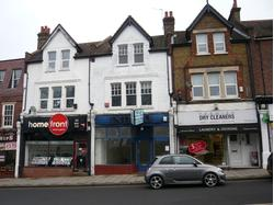 BROMLEY BR1 2RG: Lock-up shop (former hairdressing salon), total net internal floor area approx. 53.41 sq m (575 sq ft)