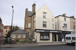 DETACHED CHARACTER OFFICE BUILDING WITH GROUND FLOOR SALES AND PRIVATE PARKING IN CITY CENTRE