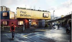 Pop Brixton, Offices Station Road, London - Selection of retail.