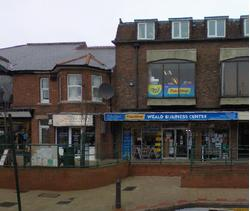 Prominent, modern shop with useful first floor office/retail area
