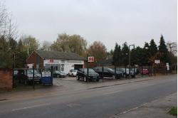 Windsor, Winkfield - sales forecourt, showroom workshop and yard - freehold for sale.