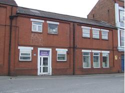 Ground floor roadside retail premises
