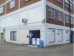 Ground floor offices with showroom facility