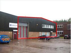 TO LET SHORT TERM STORAGE and OFFICE ACCOMMODATION. Unit 2, Wire Rope House, Moons Moat Industrial Estate, Eagle Road, Redditch, Worcestershire