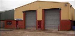 TO LET INDUSTRIAL UNIT WITH LARGE YARD. Unit 4, Royce Trading Estate, Ashburton Road West, Trafford Park, Manchester