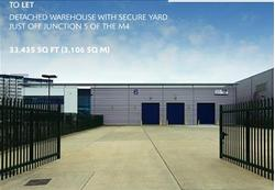 NEWLY REFURBISHED DETACHED WAREHOUSE TO LET Unit 6, Hurricane Way, Axis Park, Langley, Slough, Berkshire