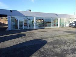 SOLD - Well presented showroom facility with forecourt and rear parking.