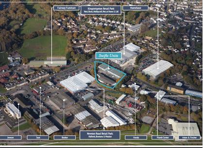 Units at Swift Park, Greenhill Way, Kingsteignton, Newton Abbot, TQ12 3SH