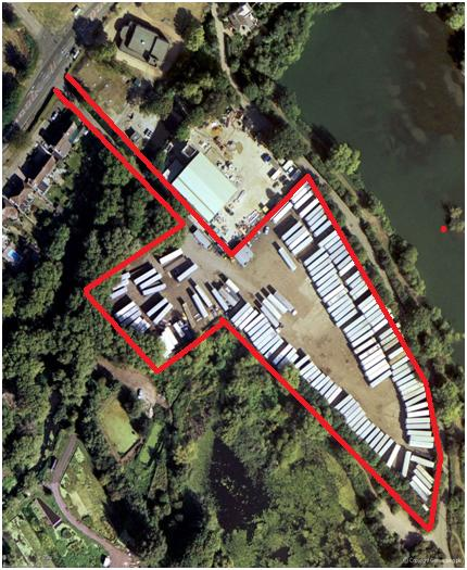 Property To Let Open Storage Yard,Mill End ,Rickmansworth