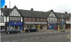 PETTS WOOD  BR5 1DQ: Prominent double shop unit. Located opposite main line rail station