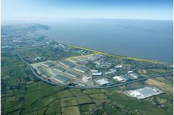 600 acre warehouse & distribution park, Bristol