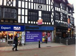 RETAIL UNIT TO LET 43 BRIDGEGATE, ROTHERHAM S60 1PL.