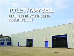 TO LET/MAY SELL REFURBISHED WAREHOUSE/INDUSTRIAL UNIT. Unit 5, Orion Trading Estate, Tenax Road, Trafford Park, Manchester
