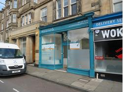 TO LET - SHOP / OFFICE - 21 STRATHEARN ROAD, EDINBURGH