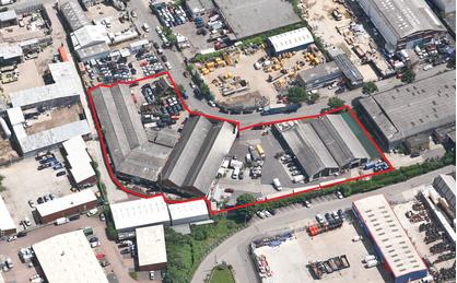 Freehold Industrial Site (circa 2.8 Acres) with Potential for Development
