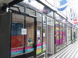 RETAIL UNIT IN BUSY SHOPPING ARCADE - WIGAN TOWN CENTRE