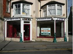Retail unit occupying prominent market place location