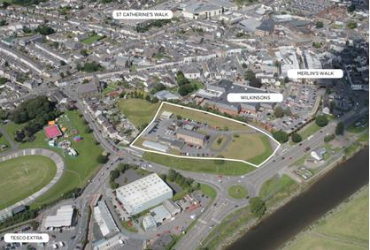 Mixed Use Development Opportunity - Friars Park, Carmarthen, South Wales