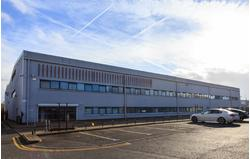 Refurbished 44,033 sq ft warehouse/industrial unit with large secure yard